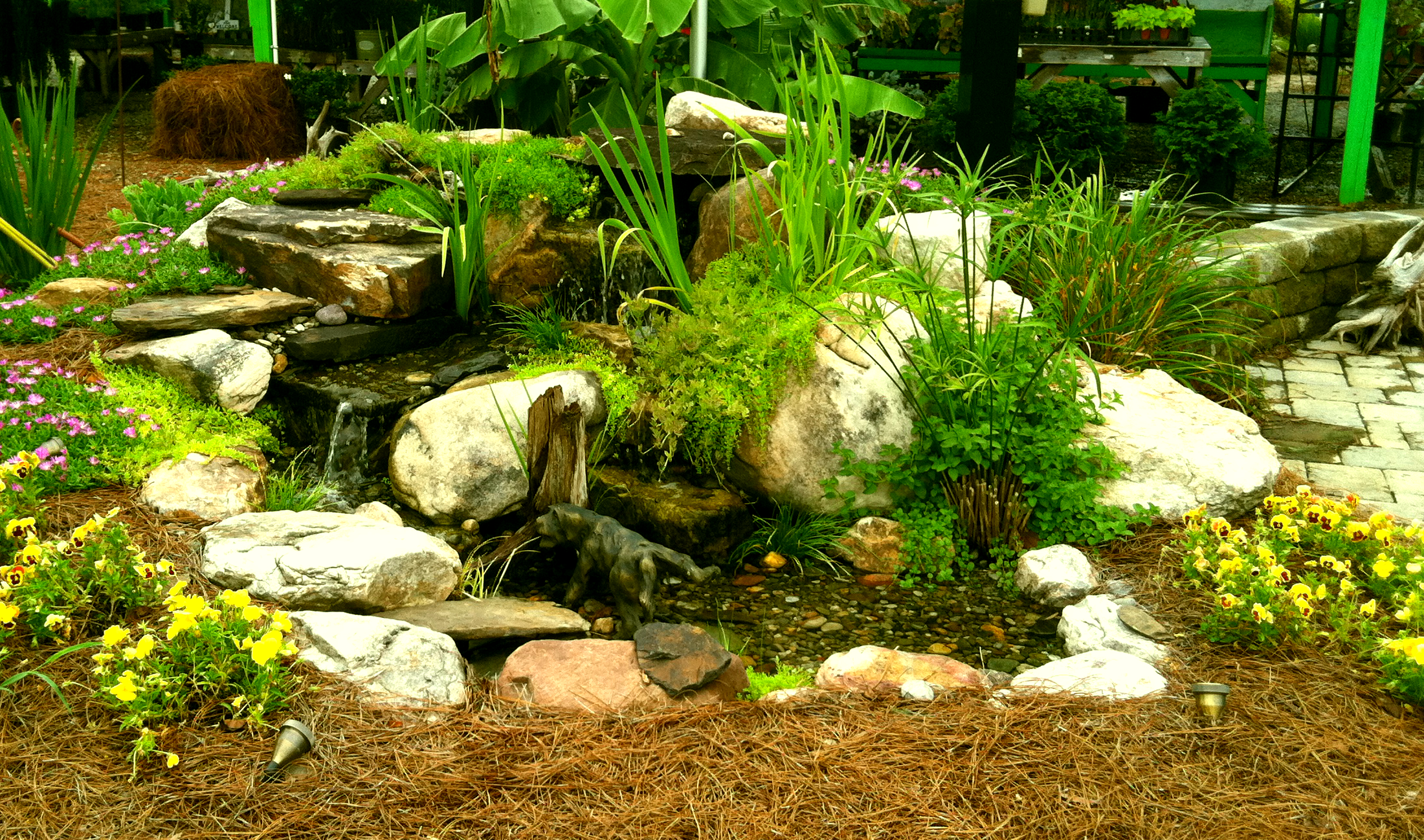 american aquascapes pondless waterfalls simple safe and soothing