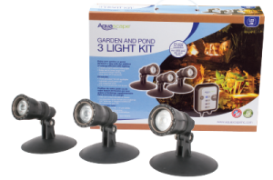 Aquascape, Inc's Garden and Pond LED 3-light Kit