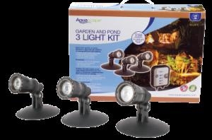 Aquascape, Inc's Garden and Pond LED 3-light Kit
