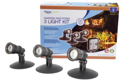 Delightful Aquascape Garden And Pond Light Kit Includes Everything Needed To Create A  Beautiful Nighttime Focal Point In Any Water Garden Or Traditional  Landscape.